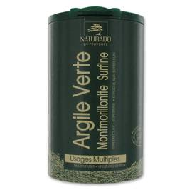 MONTMORILLONITE GREEN CLAY TUBE - Naturado en Provence - Face