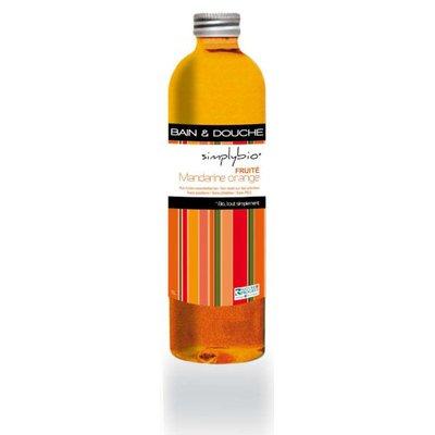 Gel douche fruité Mandarine Orange - SIMPLY BIO - Hygiène