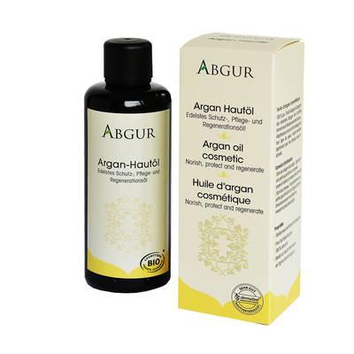 Huile d'argan cosmétique - Abgur - Visage - Corps - Cheveux - Bébé / Enfants