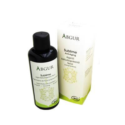 SUBLIME Argan-Graines de Figue de Barbarie-Néroli - Abgur - Visage - Corps
