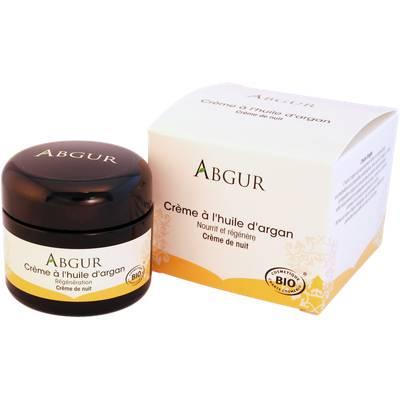 Argan oil-night cream, 50 ml - Abgur - Face