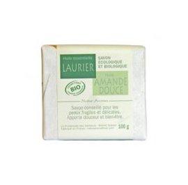 image produit Organic soap almond - laurel