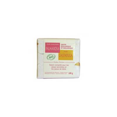Savon calendula - palmarosa - Natur Aroma - Hygiène