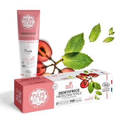 DENTIFRICE PROTECTION goût menthe - PULPE DE VIE - Hygiène