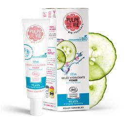 image produit Yol'eau gelée hydratante visage pour peaux sensibles