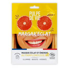 MARGAR'ECLAT masque tissu visage éclat et énergie - PULPE DE VIE - Visage