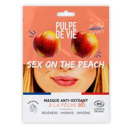 SEX ON THE PEACH masque tissu visage anti-oxydant - PULPE DE VIE - Visage