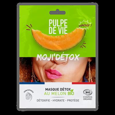 MOJI'DETOX masque tissu visage détox - PULPE DE VIE - Visage