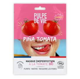 PINA TOMATA masque tissu visage imperfection - PULPE DE VIE - Visage
