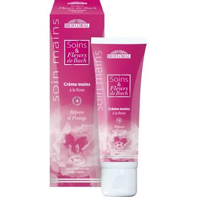 Crème mains aux fleurs de bach et à la rose - Biofloral - Corps
