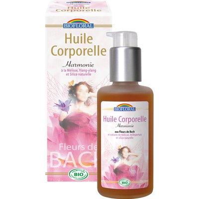 Huile corporelle harmonie - Biofloral - Massage et détente - Corps