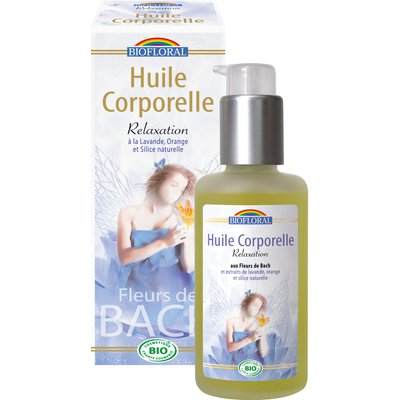 Huile corporelle relaxation - Biofloral - Massage et détente - Corps