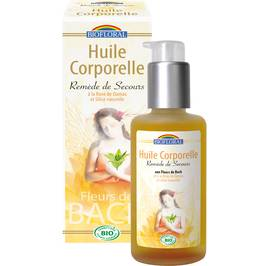 Huile corporelle remède de secours - Biofloral - Body - Massage and relaxation