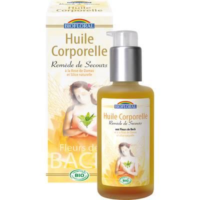 Huile corporelle remède de secours - Biofloral - Body - Massage and relaxation