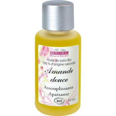 Huile cosmétique amande douce - Biofloral - Massage et détente
