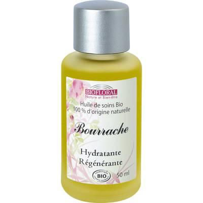 Huile cosmétique bourrache - Biofloral - Massage et détente