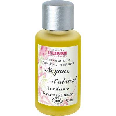 Huile cosmétique noyaux d'abricot - Biofloral - Massage et détente