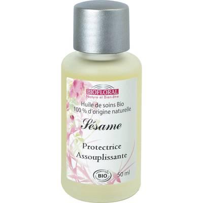 Huile cosmétique sésame - Biofloral - Massage and relaxation