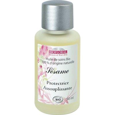 Huile cosmétique sésame - Biofloral - Massage et détente