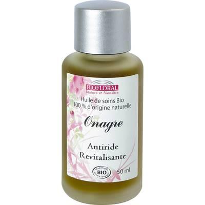 Huile cosmétique onagre - Biofloral - Massage et détente