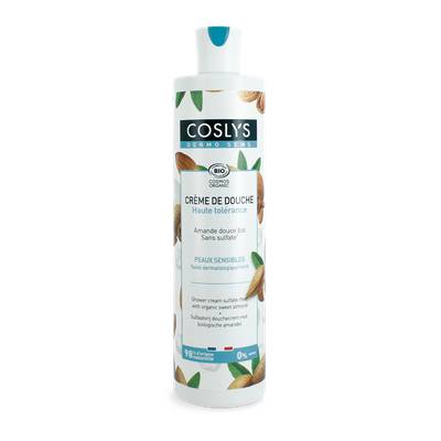 Shower cream sulfate-free with sweet almond - Coslys - Hygiene
