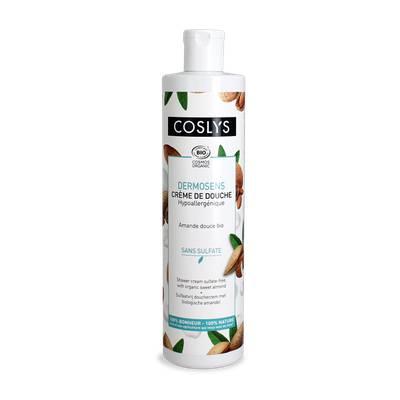 Crème de douche sans sulfate à l'amande douce - Coslys - Hygiène