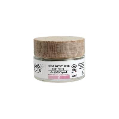 Crème native riche - Lilas Blanc Laboratoires - Visage