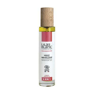 Huile merveilleuse - Lilas Blanc Laboratoires - Cheveux - Corps