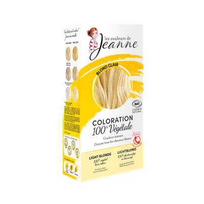 Coloration végétale - Blond clair - Les couleurs de Jeanne - Cheveux