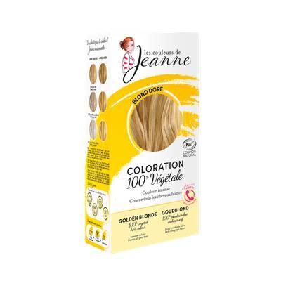 Coloration végétale - Blond doré - Les couleurs de Jeanne - Cheveux