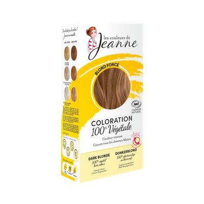 Coloration végétale - Blond foncé - Les couleurs de Jeanne - Cheveux
