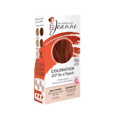 Coloration végétale - Cuivré rouge - Les couleurs de Jeanne - Cheveux