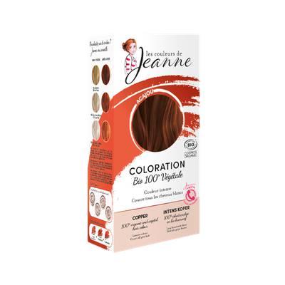 Coloration végétale - Acajou - Les couleurs de Jeanne - Cheveux