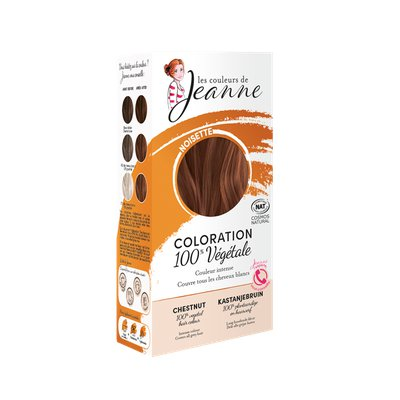 Coloration végétale - Noisette - Les couleurs de Jeanne - Cheveux