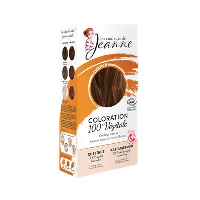 Coloration végétale - Châtain - Les couleurs de Jeanne - Cheveux