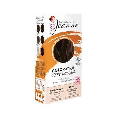 Coloration végétale - Brun - Les couleurs de Jeanne - Cheveux