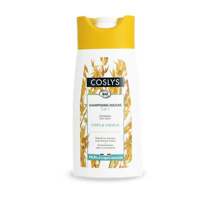 Body & Hair shampoo 2 in 1 with cereals - Coslys - Hygiene