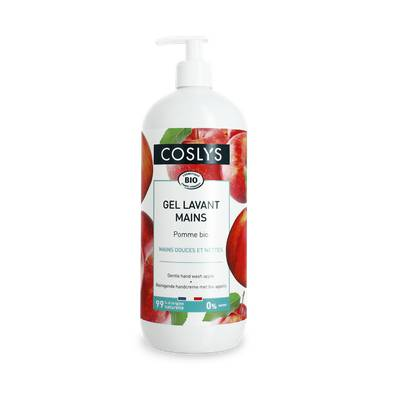 Gel lavant mains pomme - Coslys - Hygiène