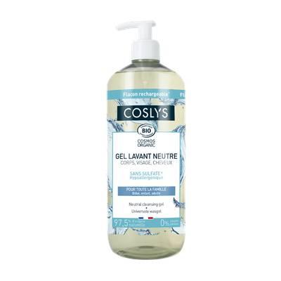 Neutral cleansing gel - Coslys - Hygiene - Hair - Baby / Children - Diy ingredients - Body