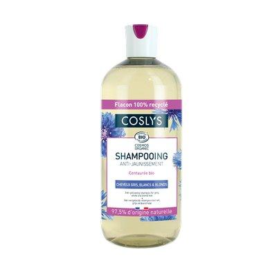 Shampooing cheveux gris et blancs - Coslys - Cheveux