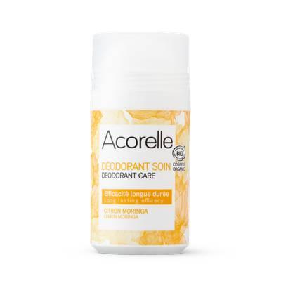 Déodorant roll-on citron Moringa - ACORELLE - Hygiène