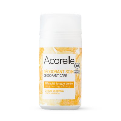 Déodorant roll-on citron Moringa - ACORELLE - Hygiene