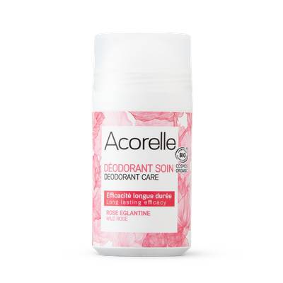 DéODORANT ROLL ON BIO ROSE éGLANTINE - ACORELLE - Hygiene