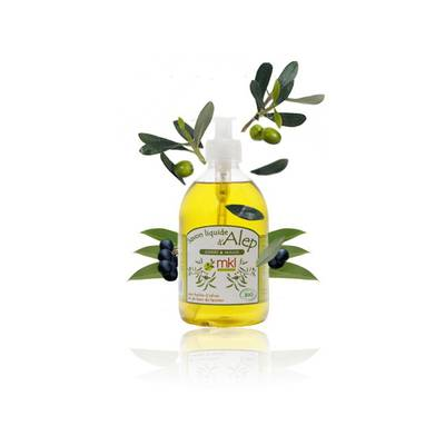 Alep liquid soap - MKL Green Nature - Hygiene