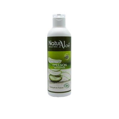 Emulsion nettoyante à l'aloe vera - NaturAloe - Visage