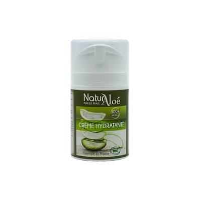 Crème hydratante à l'aloe vera - NaturAloe - Visage