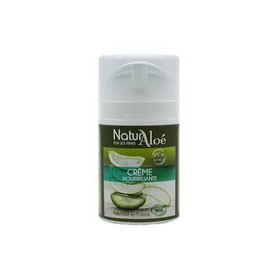 Crème nourrissante à l'aloe vera - NaturAloe - Visage