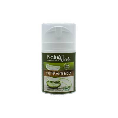 Crème Anti-Rides à l'aloe vera - NaturAloe - Visage