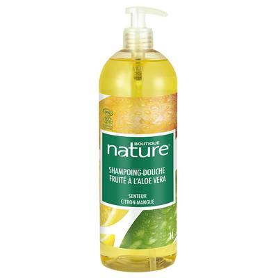 shampoing-douche-fruite-a-base-daloe-vera-senteur-citron-mangue