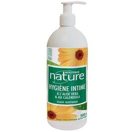 Hygiène intime à l'aloe vera et au calendula - Boutique Nature - Hygiène